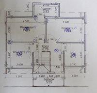 План 2 этажа с электроприборами